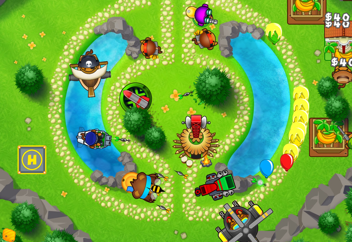 Bloons Tower Defense 5 Windows, Mac, Android game
