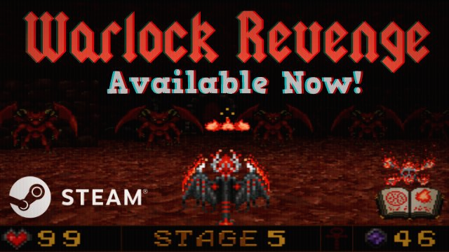 Warlock Revenge are coming on Steam