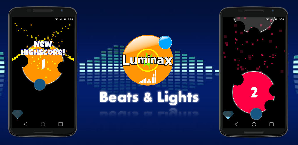 Luminax - Beats and Lights Android game - Mod DB
