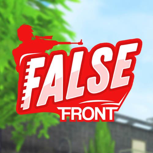 Present A False Front