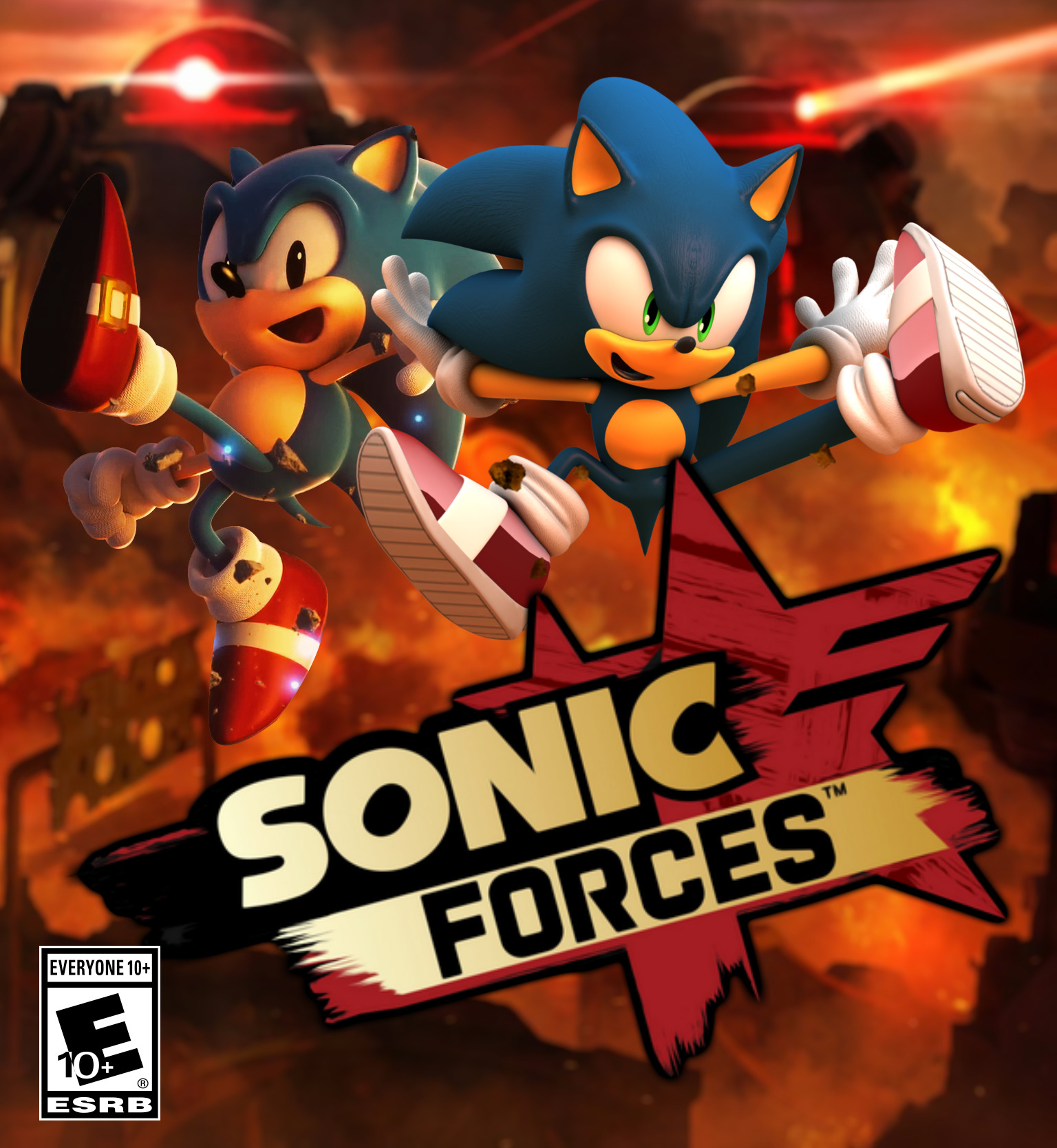 Sonic Forces Windows Xone Ps4 Switch Game Mod Db
