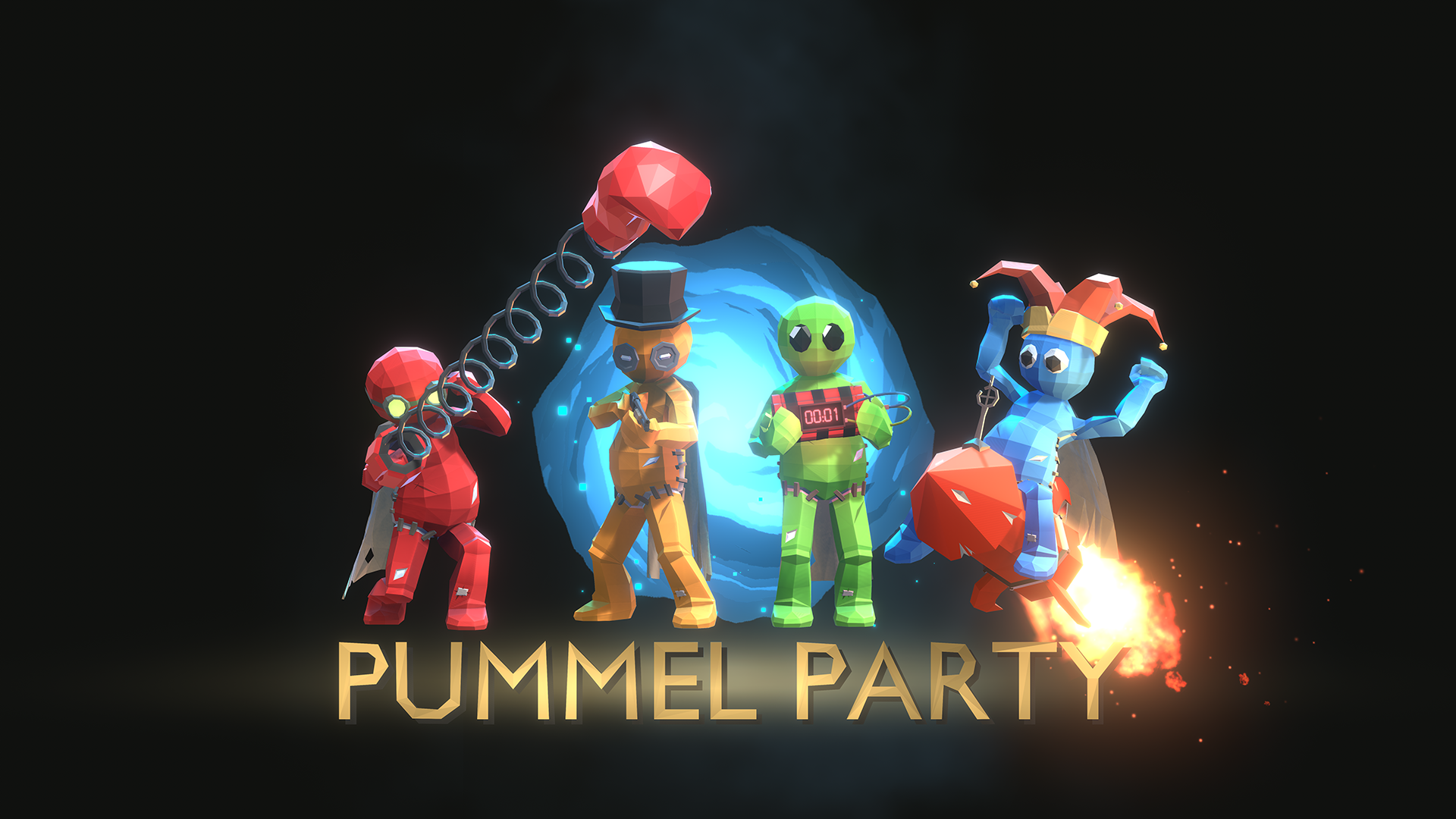 pummel party windows game