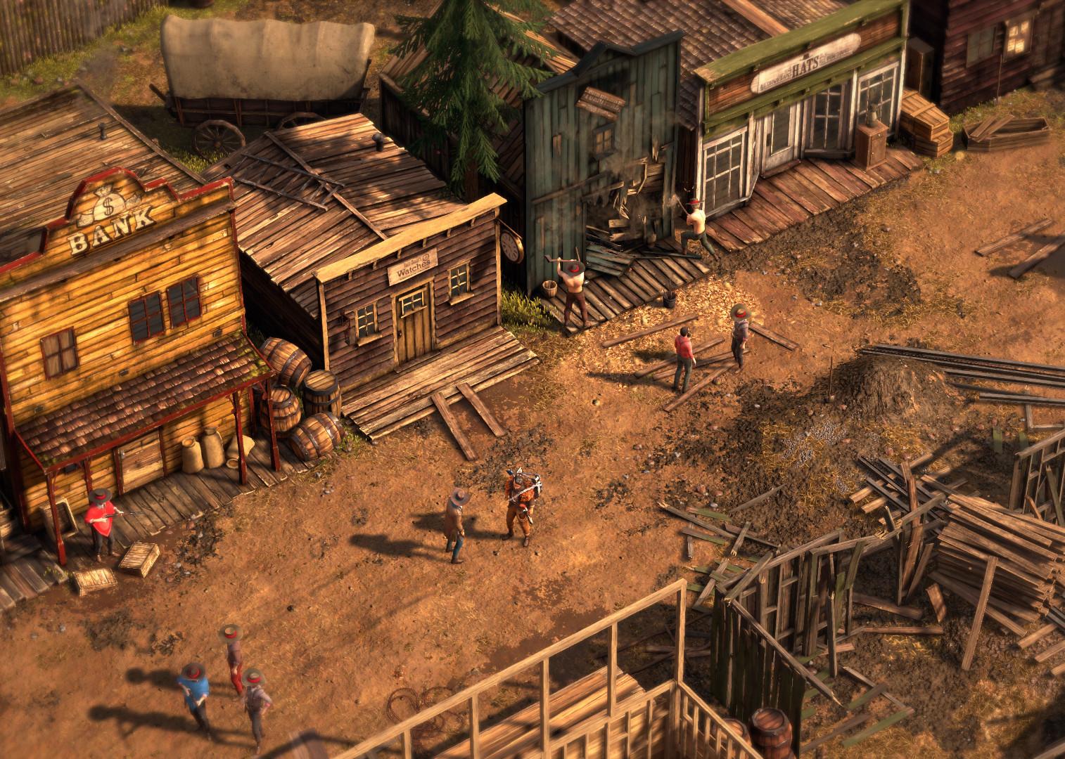 Desperados Iii Windows Xone Ps4 Game Mod Db