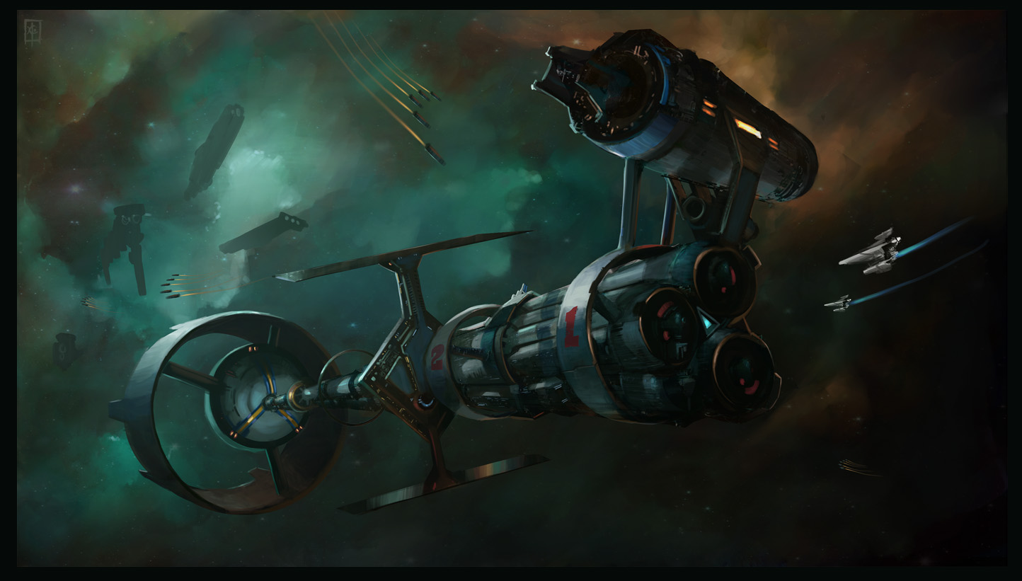 Sci Fi Space Station Concept Art Quotes