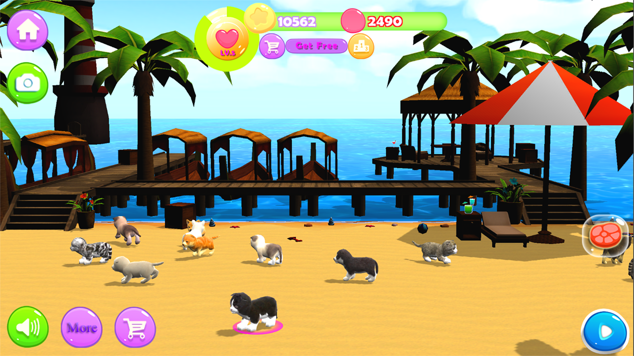 Kitty And Puppy Parkour iOS, Android game - Mod DB