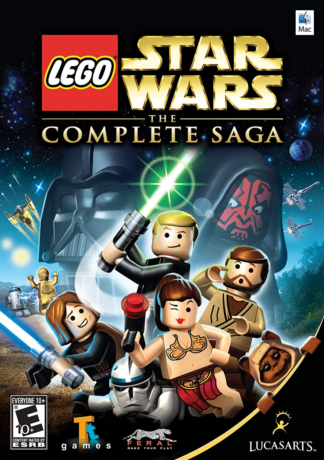 Lego Star Wars The Complete Saga Windows Mac Ios Android X360 Ps3 Wii Game