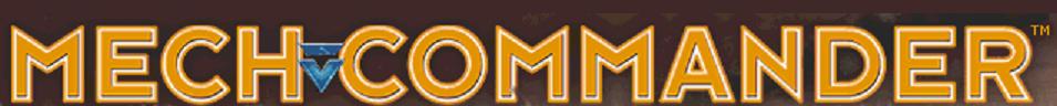 MechCommander Banner