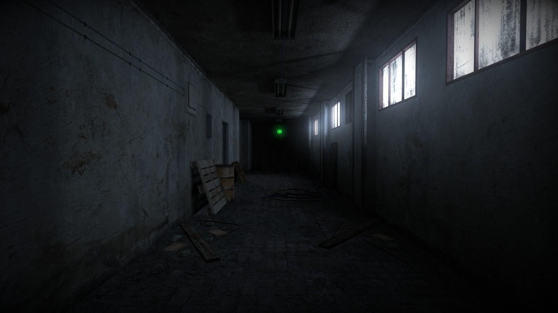 wallpaper scary corridor 1080p - photo #37