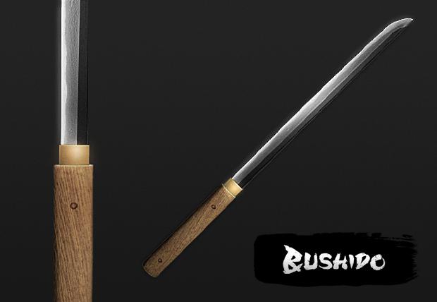 Zatoichi Sword Chokuto 3D model image...