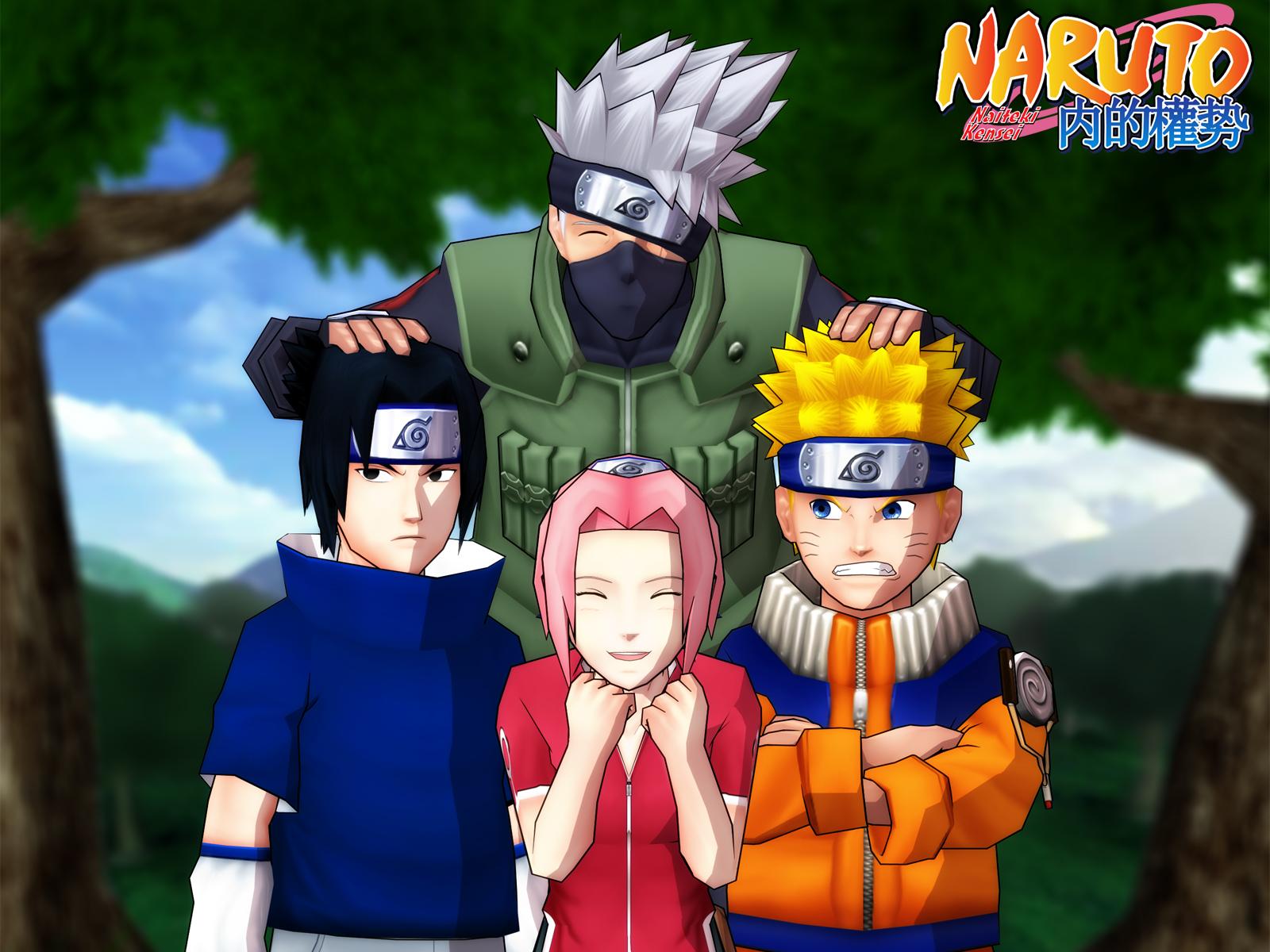 Beautiful Wallpaper Naruto Team 7 - Team7_render_1600x1200  Trends.jpg