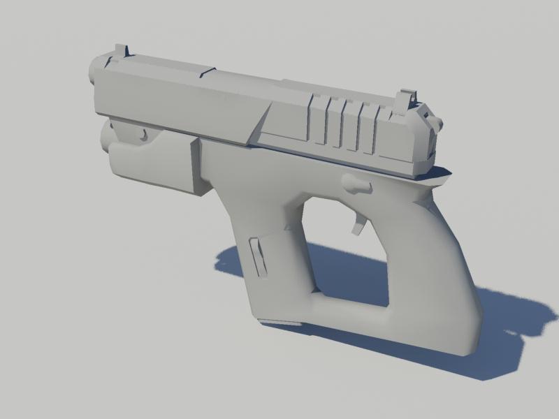 RH Pistol zynthetikk
