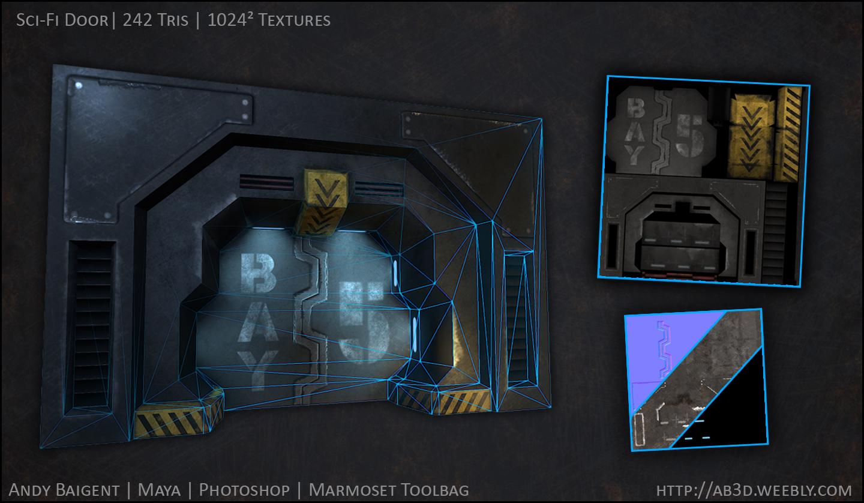 Sci-Fi Door image - 3D Artists Group - Mod DB