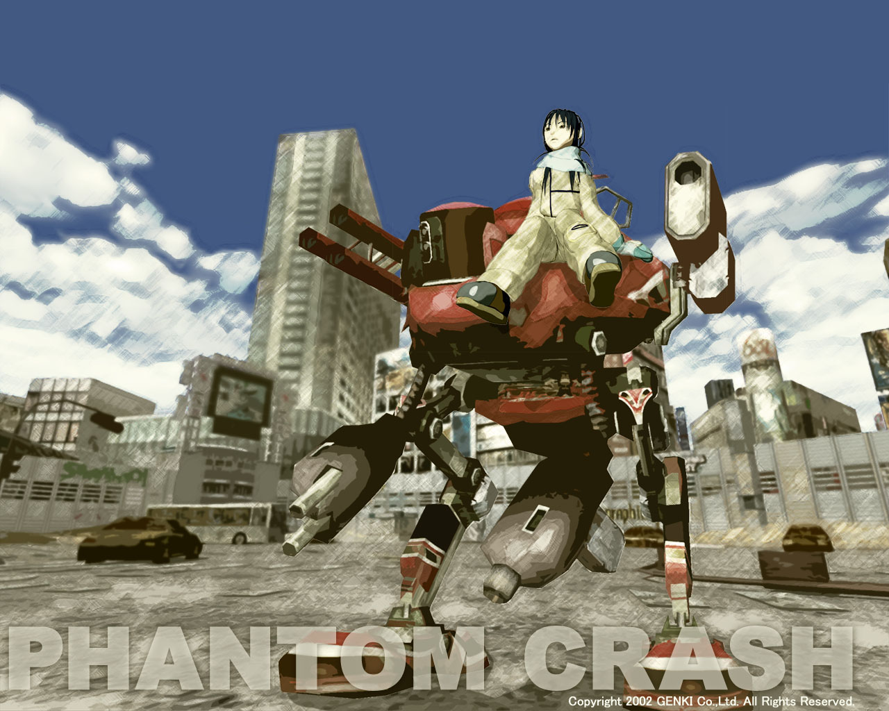 Phantom Crash Image - Mech Fans