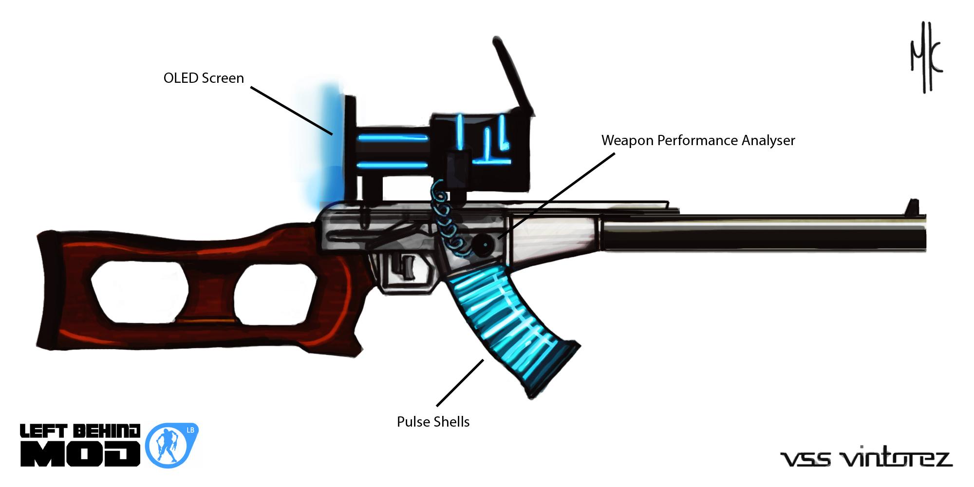 """El mejor Rifle francotirador Sovietico: VSS """"Vintorez"""""""