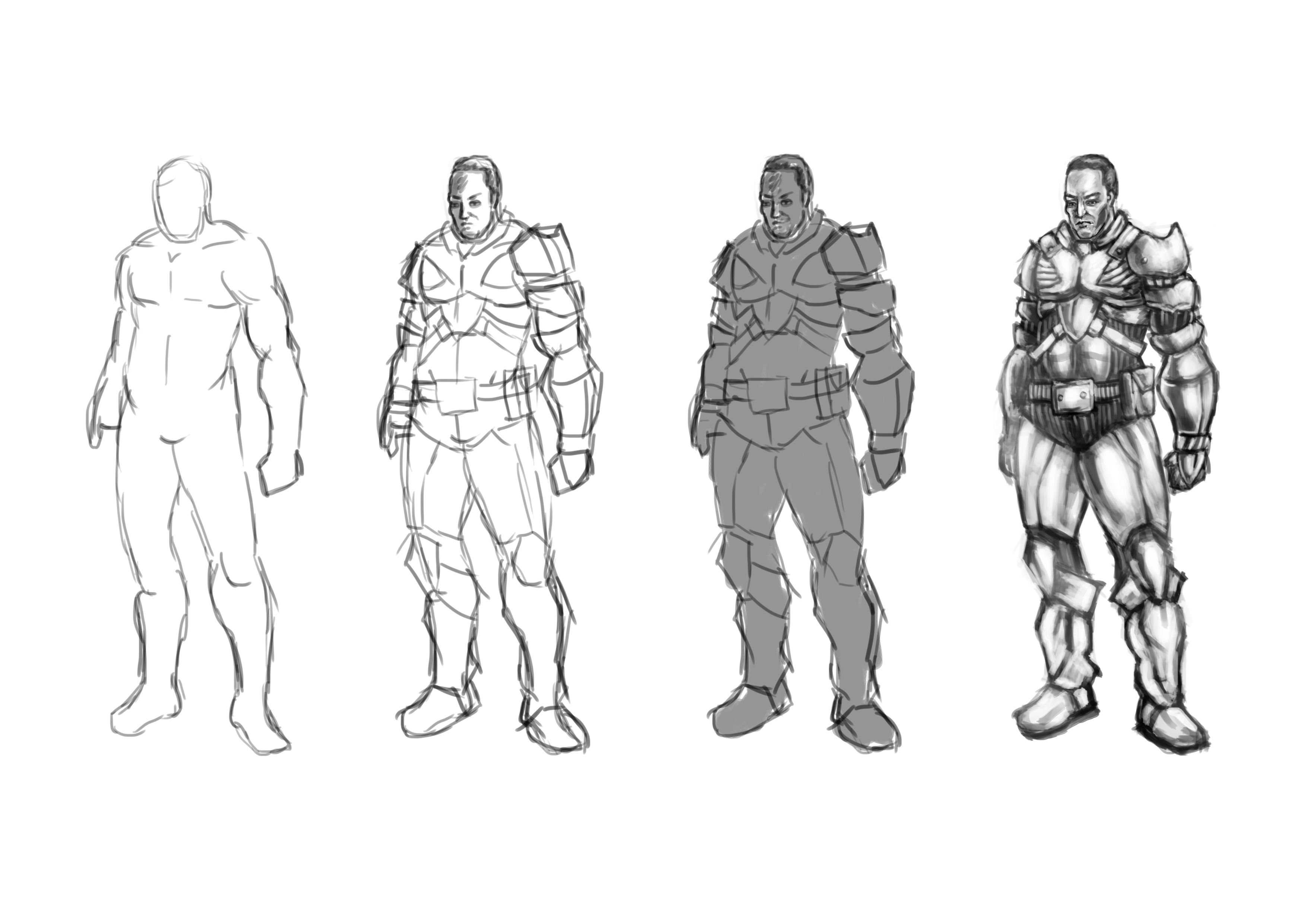 Character Design Concept Artist : Character designs steps image concept artists mod db