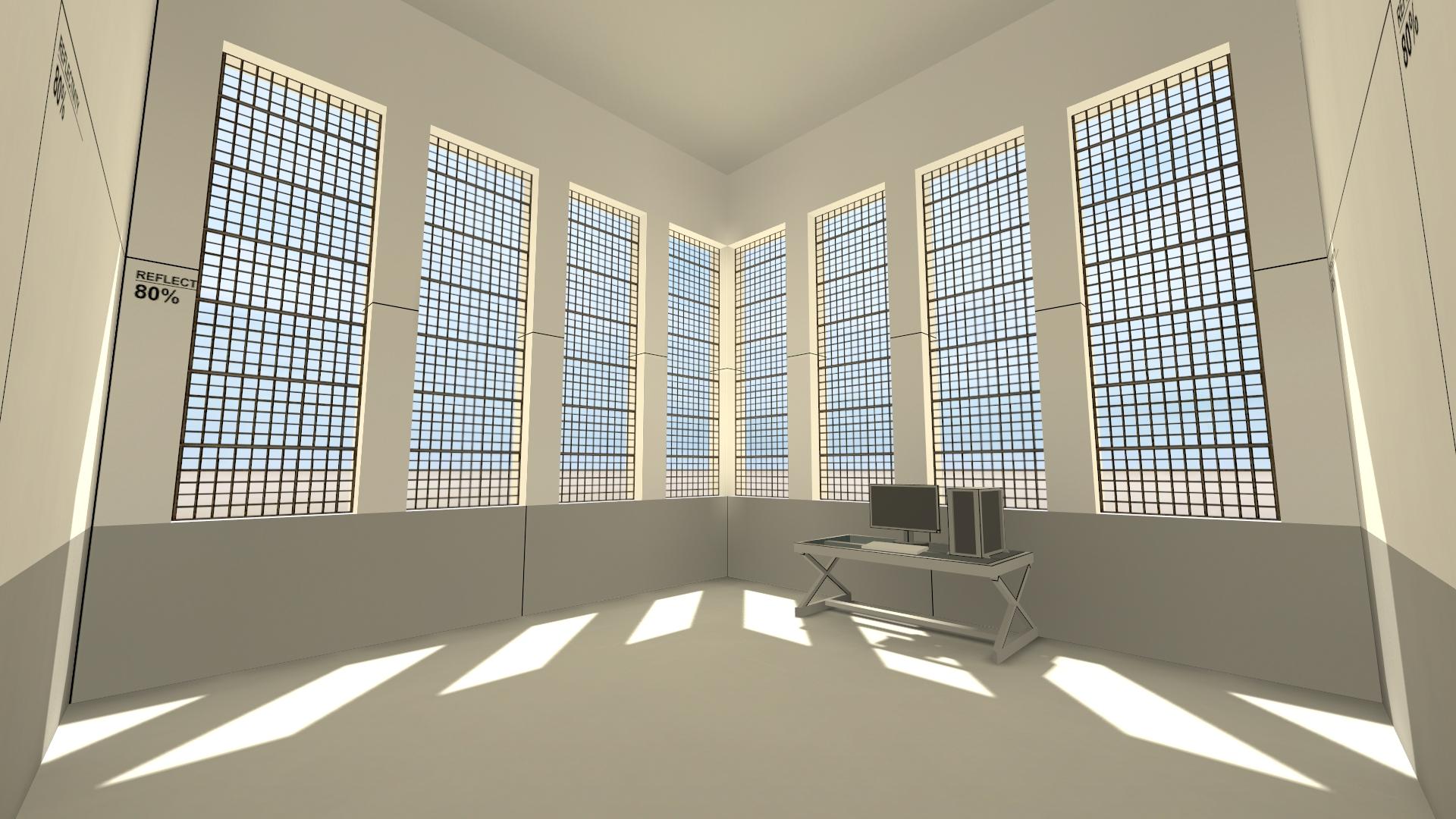 Room Mapper the blank room. image - source developers - mod db