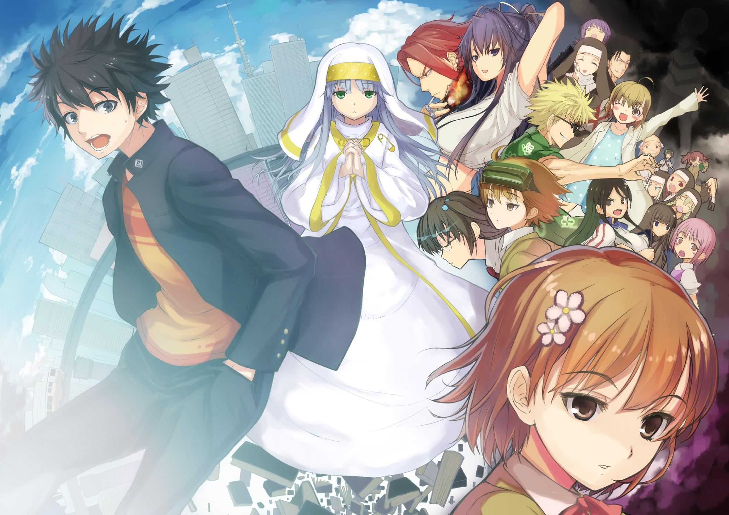 Index Librorum Prohibitorum Misaka Mikoto Nun Kanzaki Kaori Misaka Imouto Stiyl Magnus Kami HOT!!! Hết Sword Art Online, Overlord thì lại tới To Aru Majutsu Index rục rịch season mới!!! Phải chăng sắp các hãng Anime lớn chỉ đang chờ tới 2018???