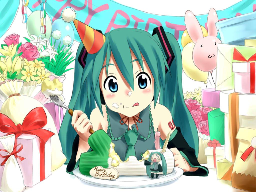 Image Result For Hatsune Miku Birthday Cake
