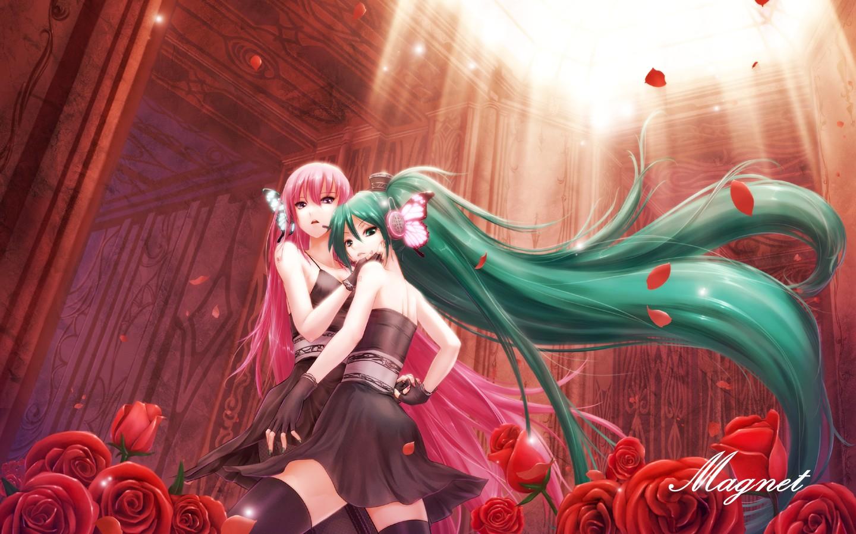 luka megurine and miku hatsune image anime fans of moddb