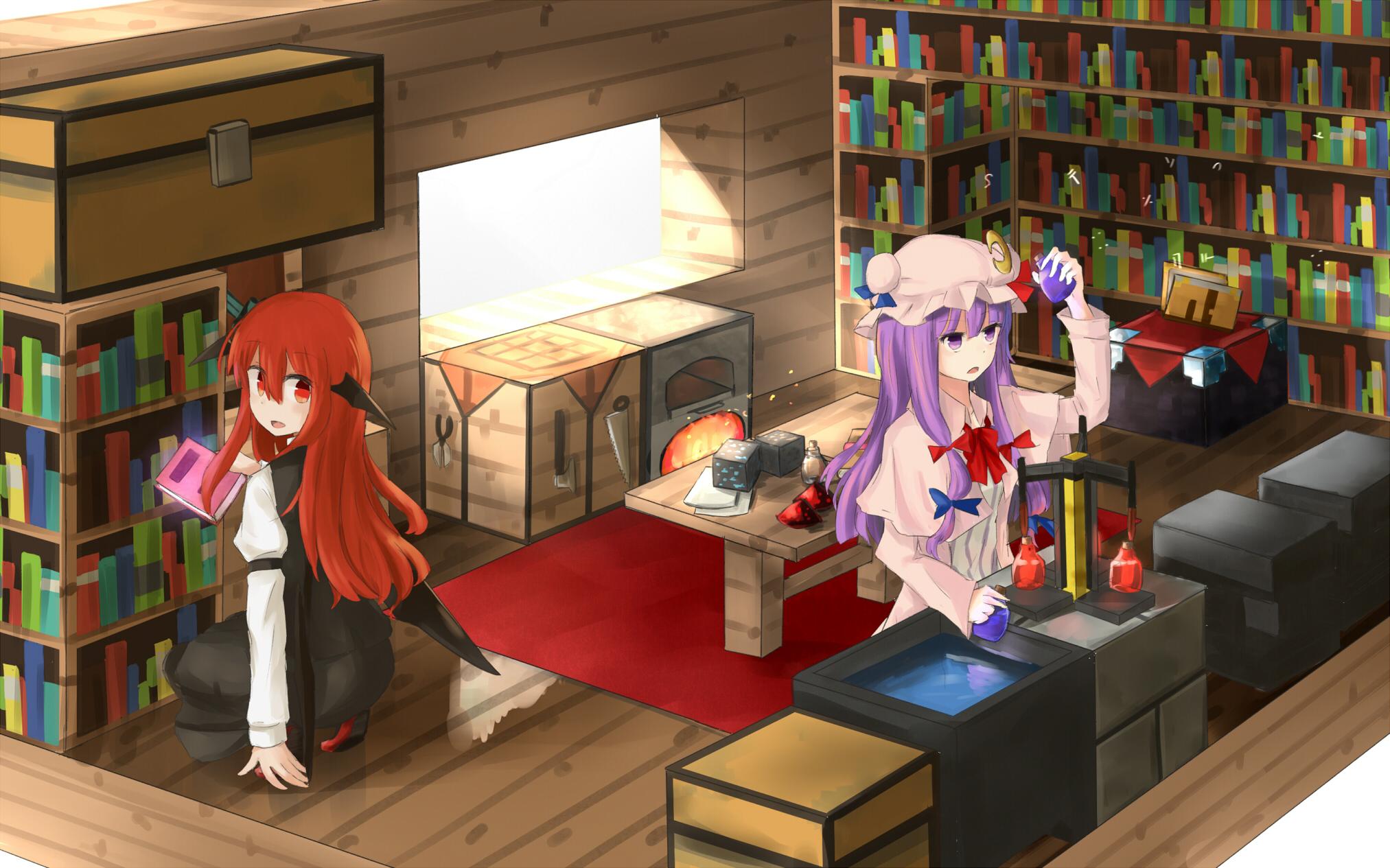 Картинки майнкрафт на рабочий стол аниме