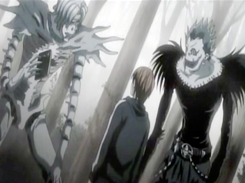 death note ryuk and rem - photo #11