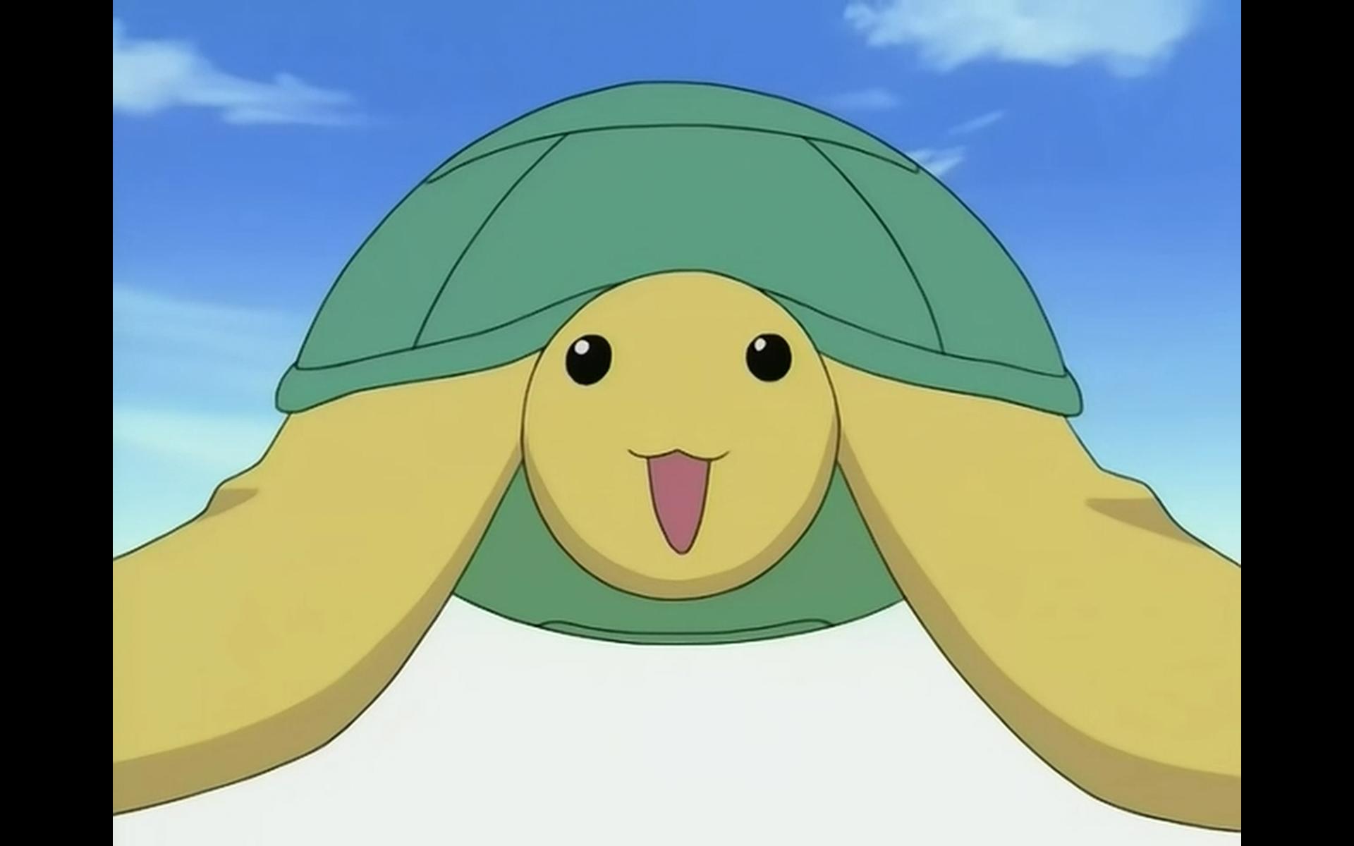 Аниме картинки с черепахой