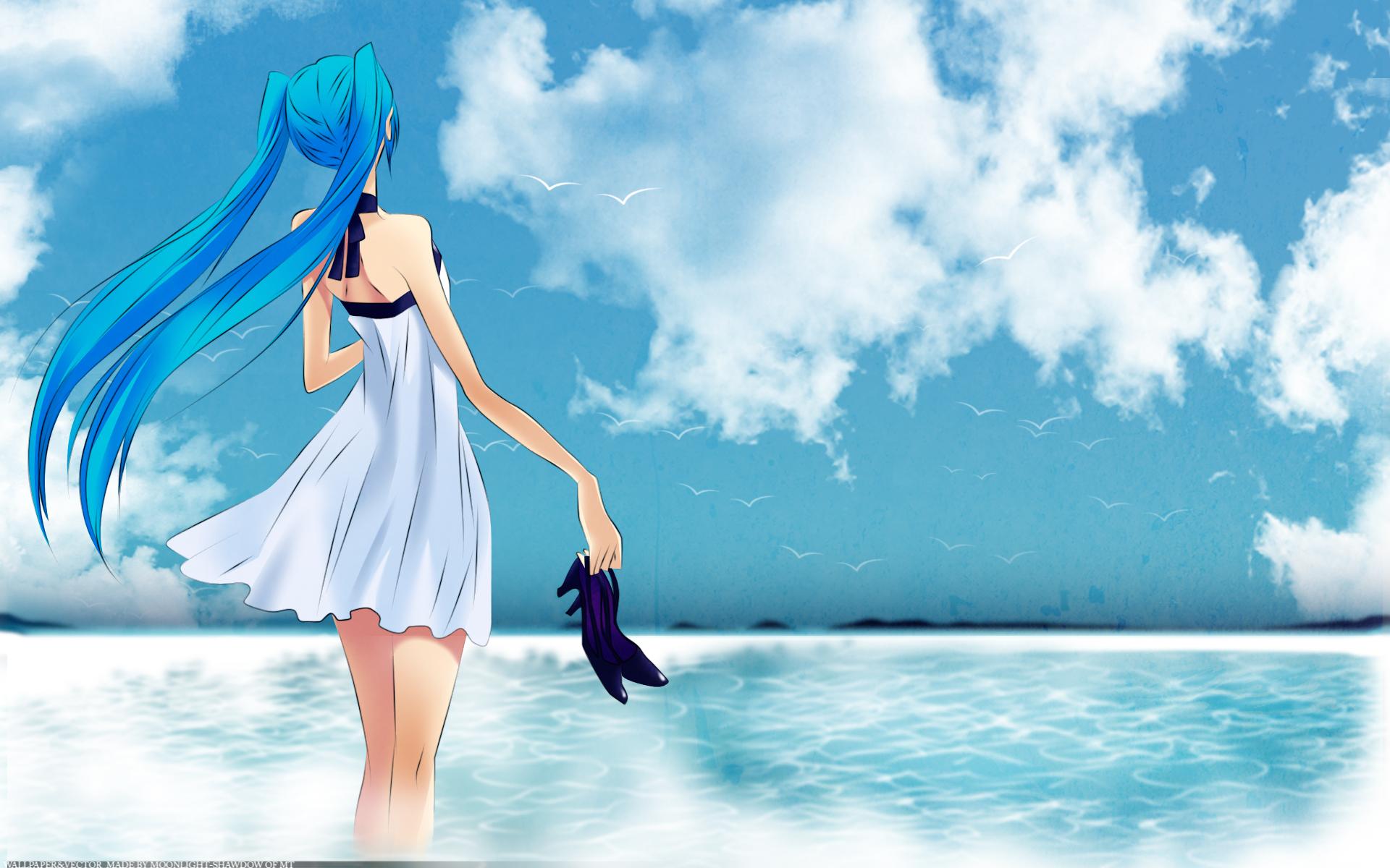 Summer time image anime fans of moddb mod db - Beach anime girl ...