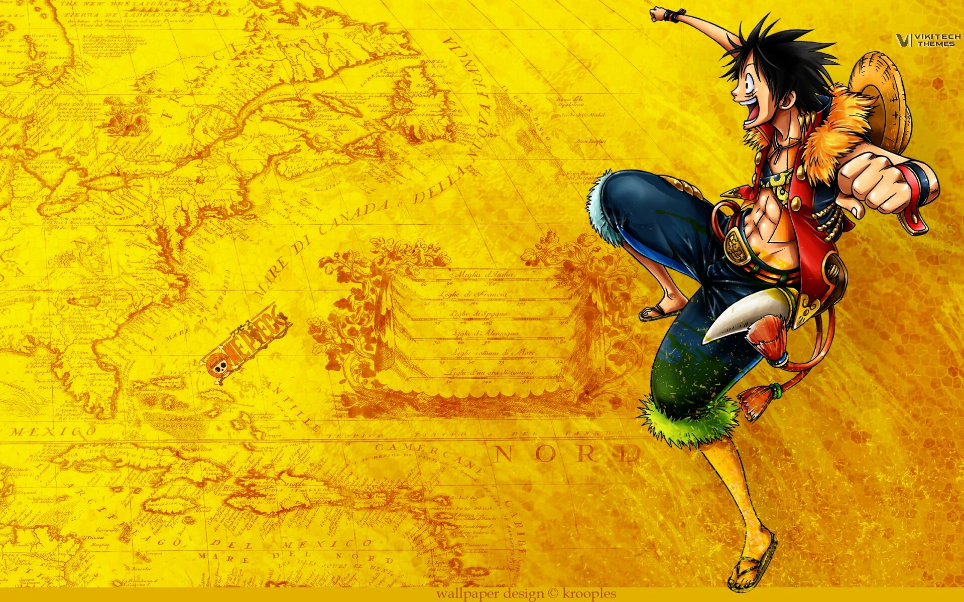 One Piece map image - Anime Fans of modDB - Mod DB