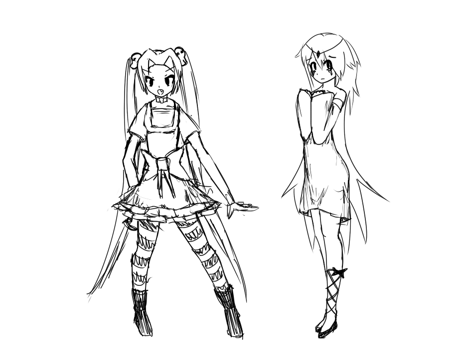 witch princess sketches image - anime fans of moddb