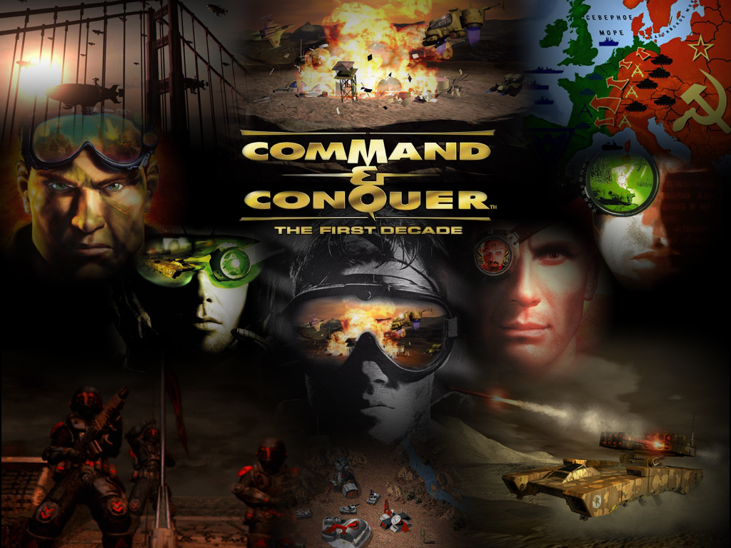 Command And Conquer Wallpaper: The First Decade Wallpaper Image