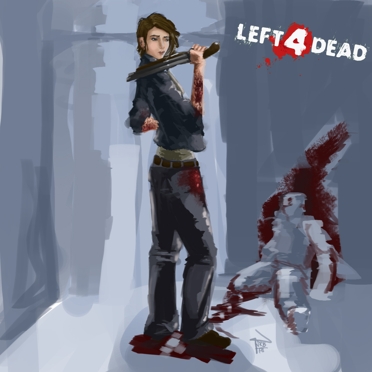 Are not Sexy pics of zoey l4d thought differently