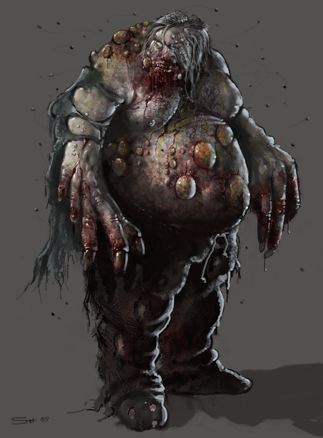 Zombie image - Left 4 Dead Concept Art Contest - Mod DB