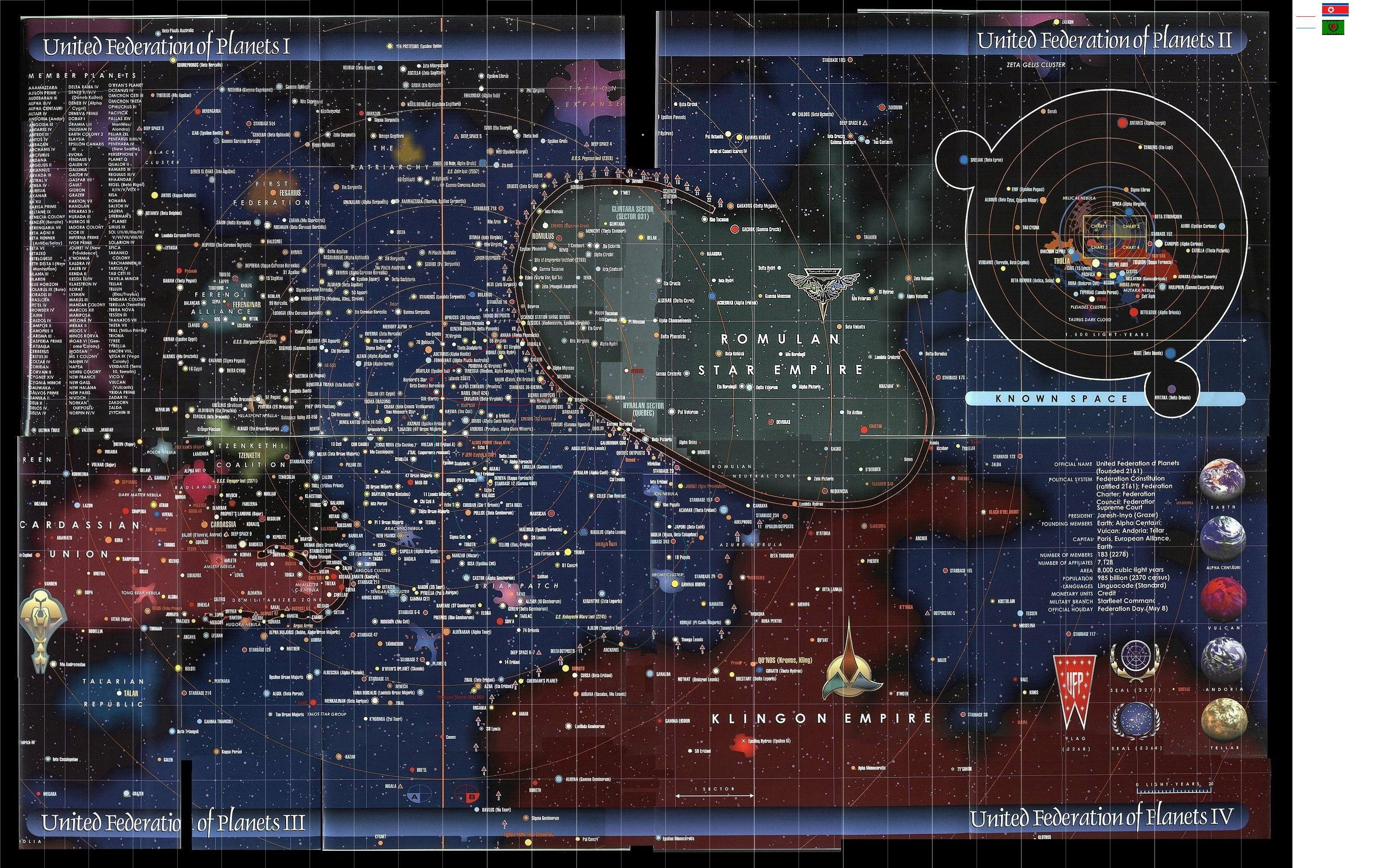 Map Of Islamic Caliphate And Korean Repulic Image Star Trek Fan