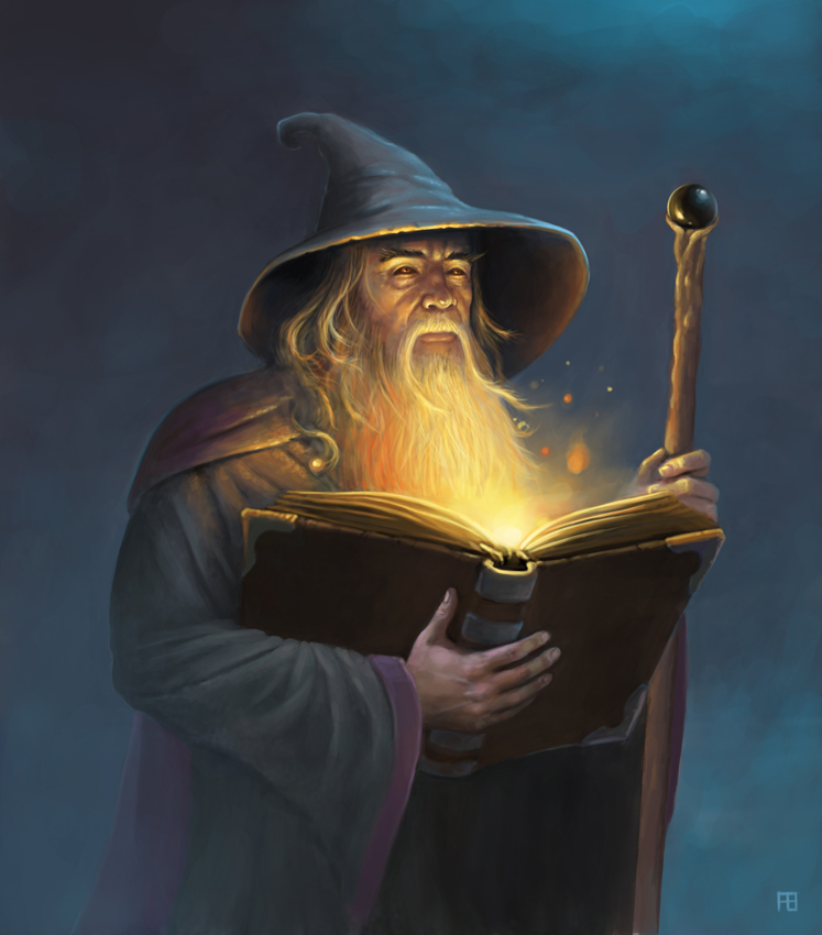 magic book image - The...