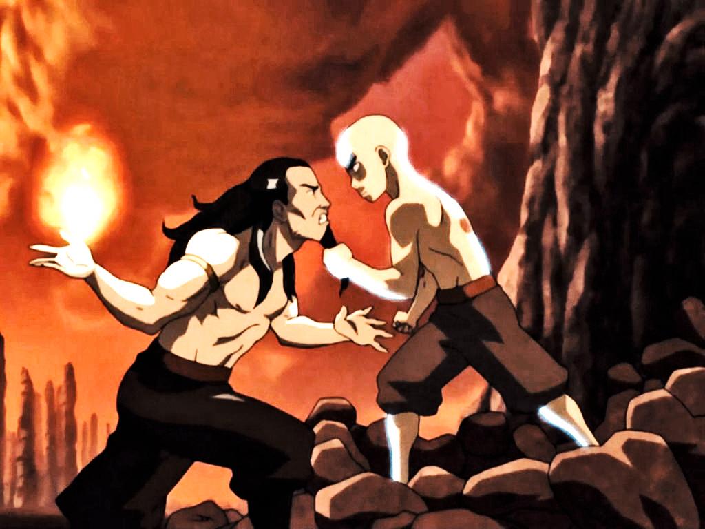 Avatar Aang vs Firelord Ozai - YouTube