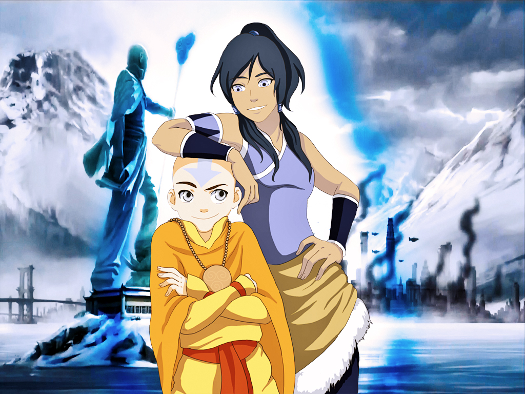 Avatar Korra Avatar Aang avatars THE AVATAR SERIES: Aang vs. Korra: www.unleashthefangirl.com/editorial/avatar-series-aang-vs-korra/94702