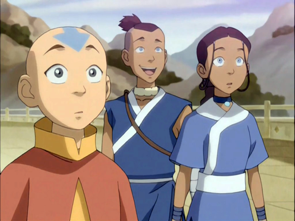 Avatar the last airbender katara and sokka you tell