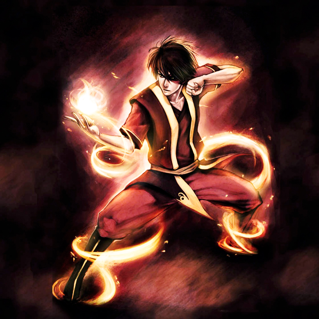 Avatar Background: Fire-bender -The Last Air-bender- Wallpaper Image