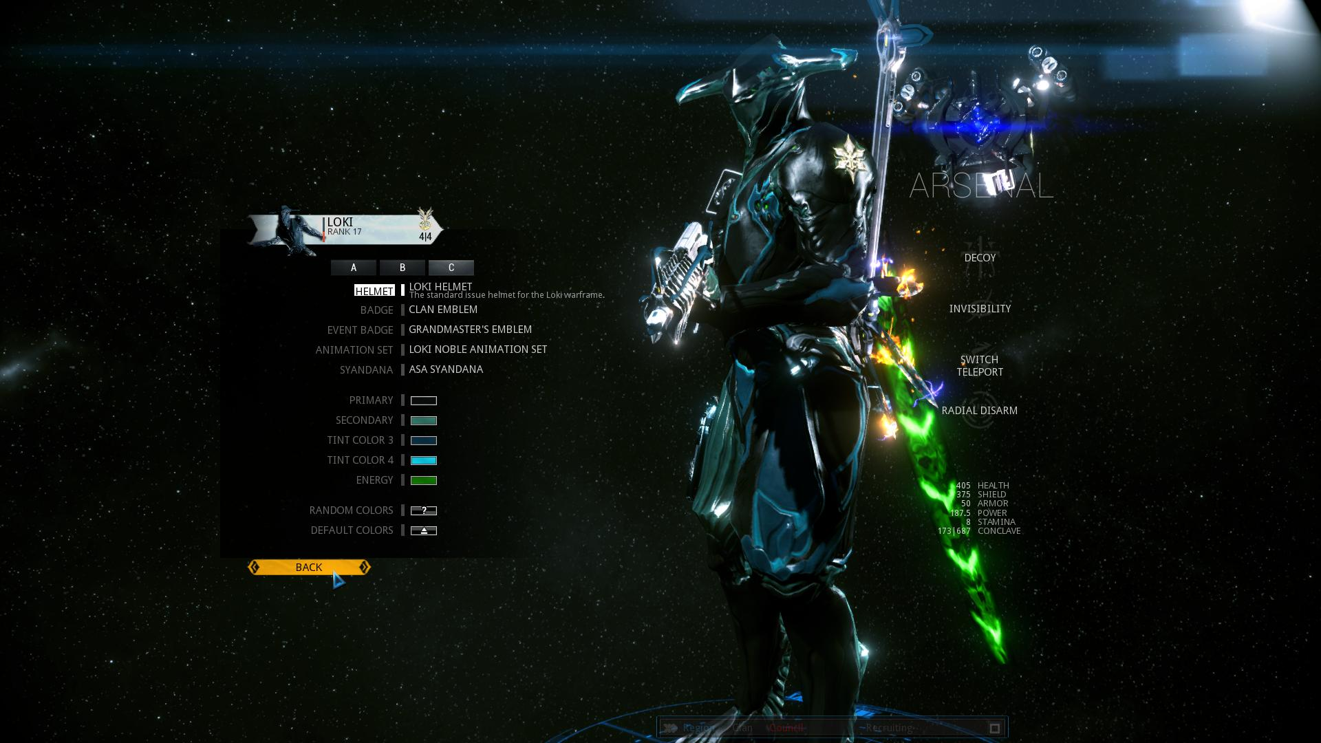 warframe how to add four mods