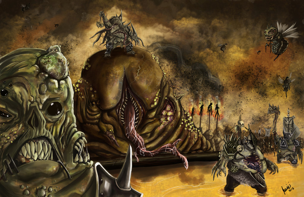 Nurgle destroys them all image - CHAOS space marines army ...