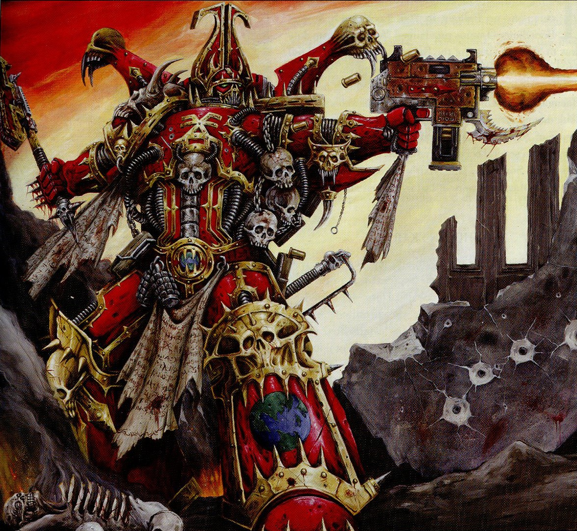 Warhammer 40k Chaos Space Marines: CHAOS Space Marines Army Fans