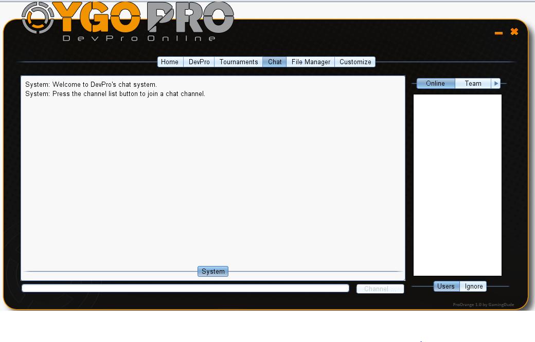 YGOPro DevPro Online Knecht company - Mod DB
