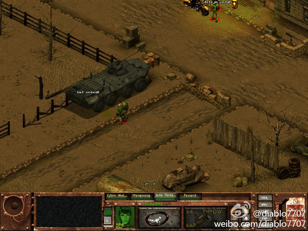 BTR-80 in game