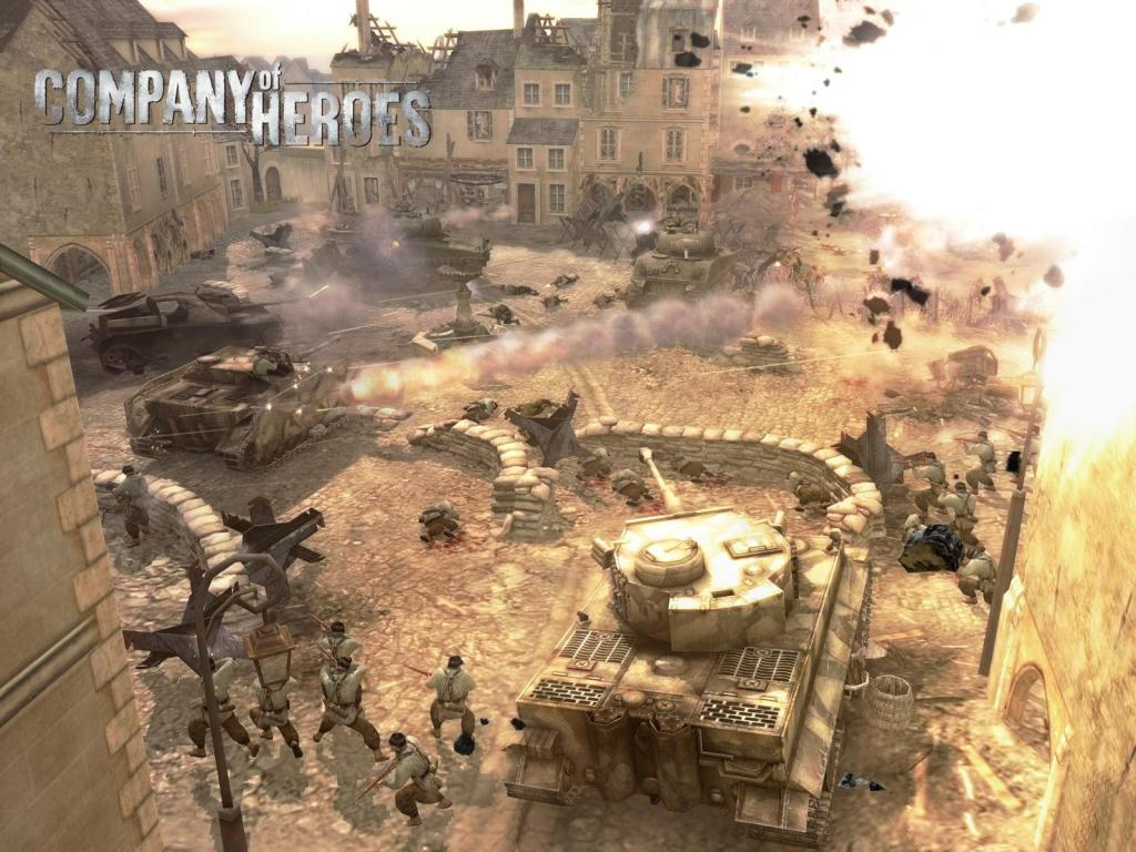 company of heroes how to build