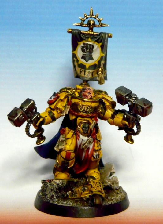 Imperial fist captain image space marines fan group warhammer 40k mod db - Imperial fists 40k ...