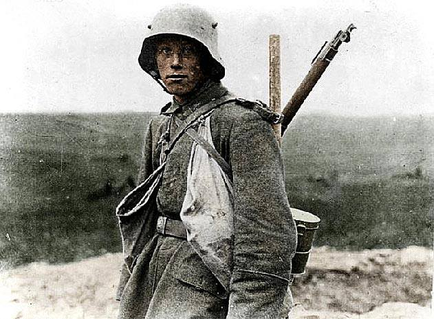 Young German Soldier (1918) image - WW1 Reference Group - Mod DB
