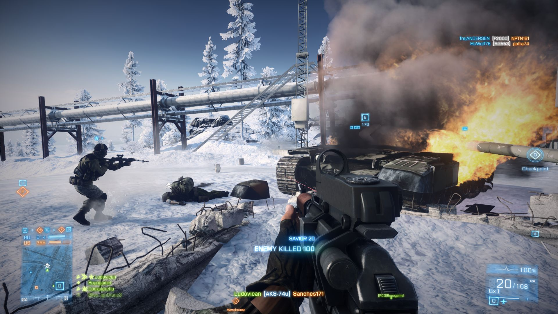 battlefield 3 gameplay image - Armies of the World all ...
