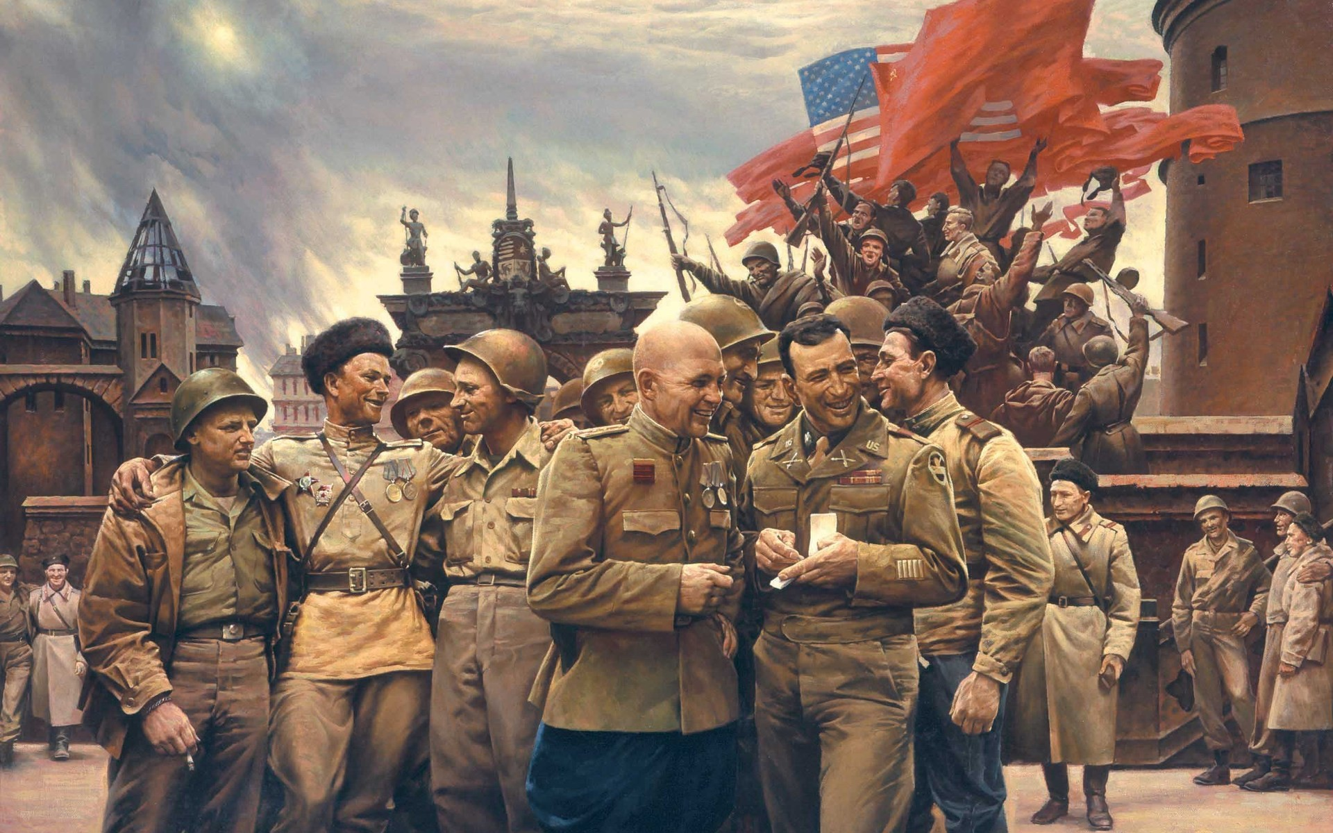 the historical implications of the soviet victory during wolrd war ii The soviet union paid the harshest price: though the numbers are not exact, an estimated 26 million soviet citizens died during world war ii.