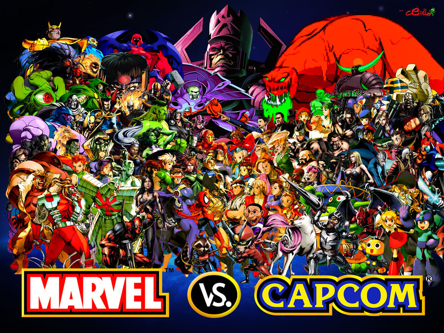 Ultimate Marvel Vs Capcom 3 Wallpaper