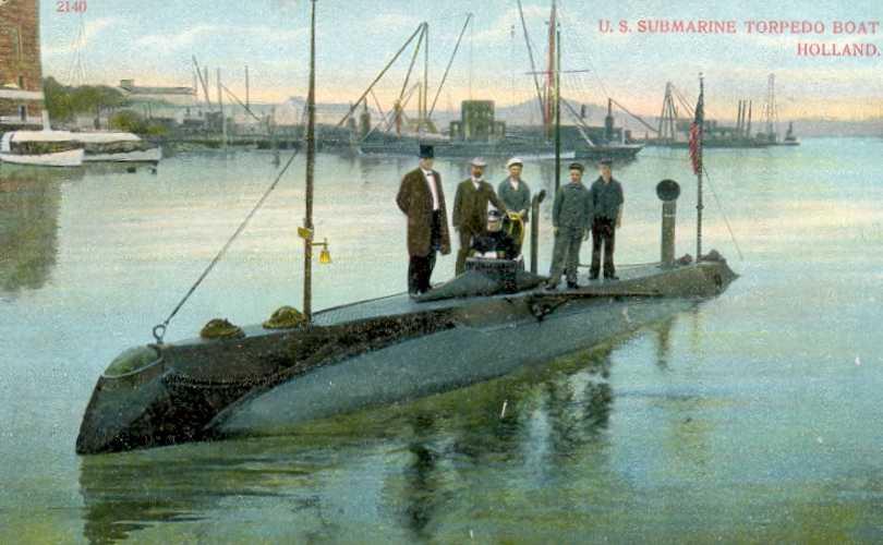 Uss Holland Ss 1 Image Submarine Lovers Group Mod Db